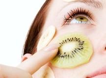 Maschera per il viso nutriente e ristrutturante al Kiwi