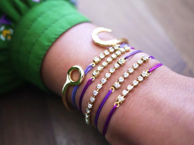 fatto di accessori e non passare mai inosservate? Questi braccialetti ...