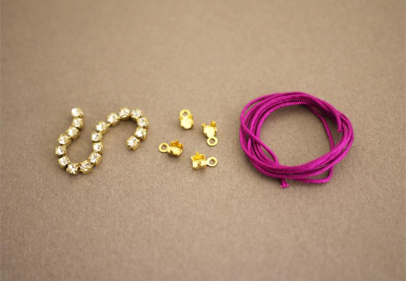 Ben noto Come realizzare dei braccialetti con gli strass fai-da-te  PC26
