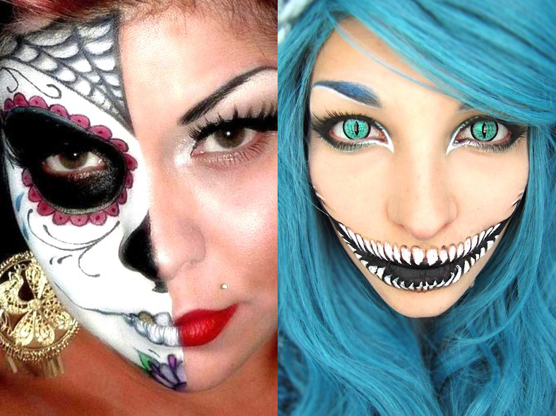 Trucco Halloween Idee Per Un Trucco Spaventoso Foto Pictures to pin on ...