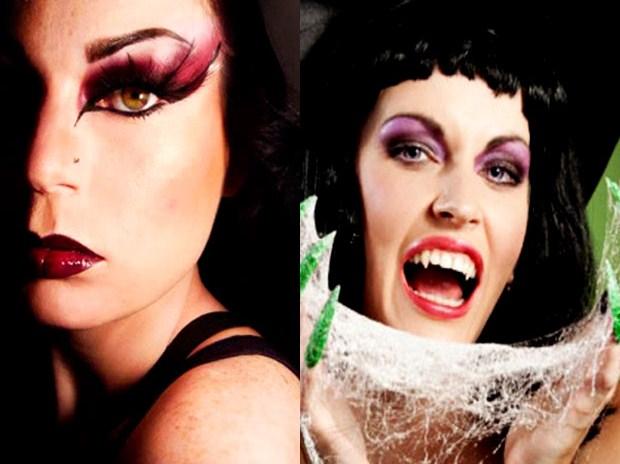 halloween costumi idee consigli maschere donna strega make up nail art unghie