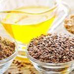 Capelli nutriti e splendenti con l'olio di lino