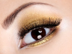 www.specchioedintorni.it gold make-up eyes