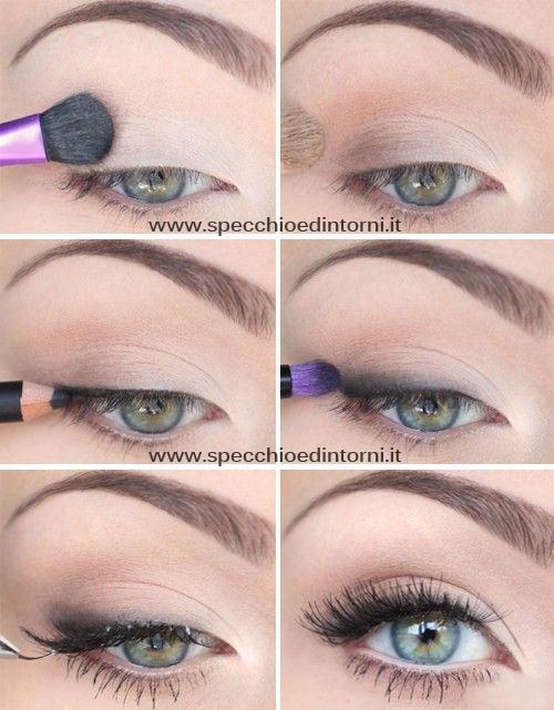 Eccezionale Il make-up per camuffare gli occhi sporgenti | SPECCHIO E DINTORNI CB78