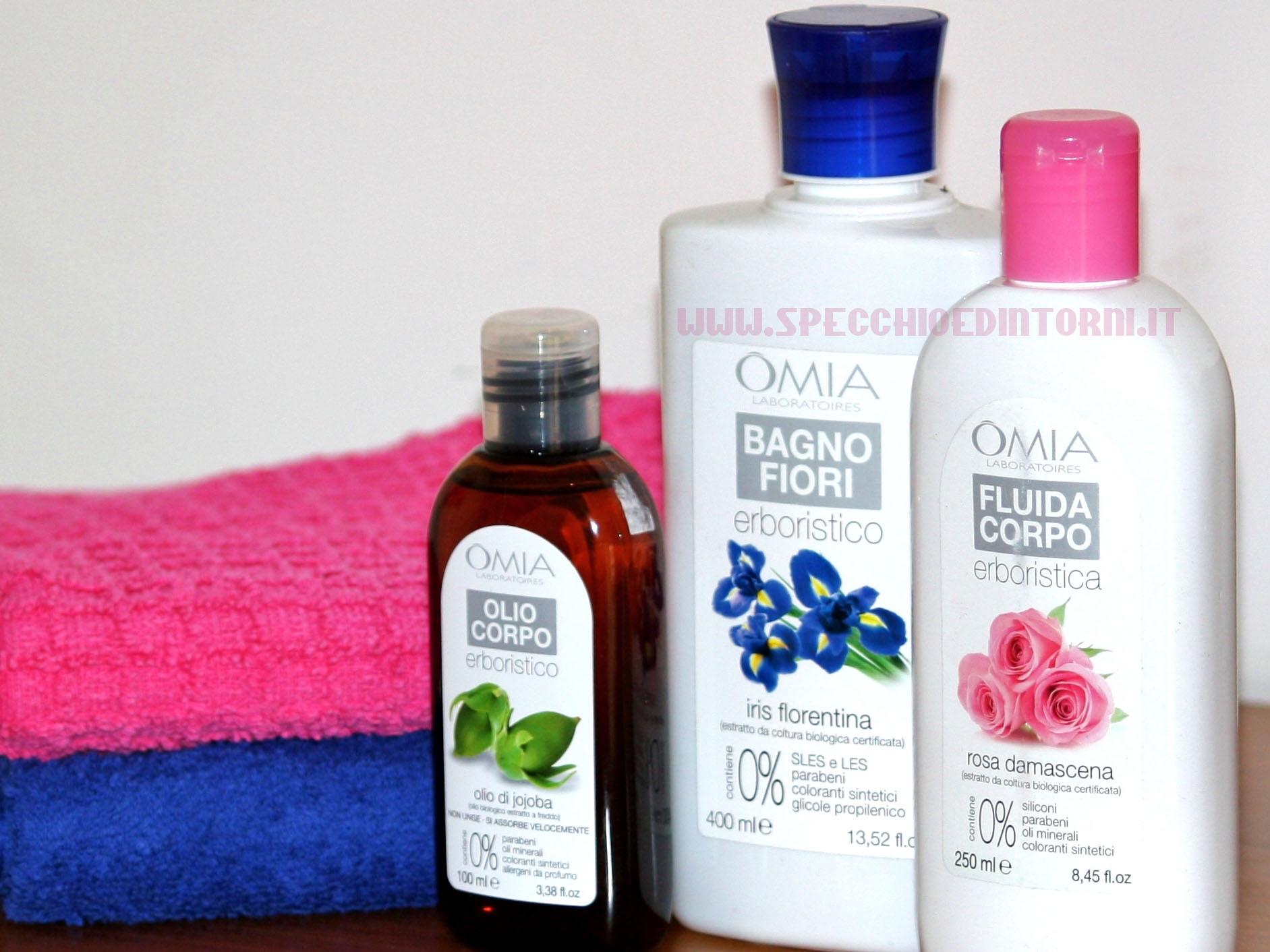 Provati per voi prodotti da bagno omia laboratoires specchio e