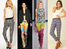 Tendenze Primavera/Estate 2013: i pantaloni multicolor