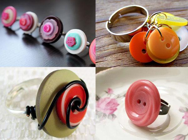 Riciclo creativo come realizzare bijoux con i bottoni for Fai da te riciclo creativo