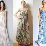 L'abito lungo torna di moda. Come indossarlo?