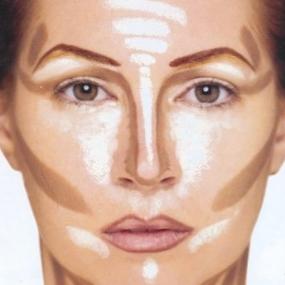 naso grande trucco make-up makeup maquillage consigli truccare il viso rimpicciolire il naso contouring
