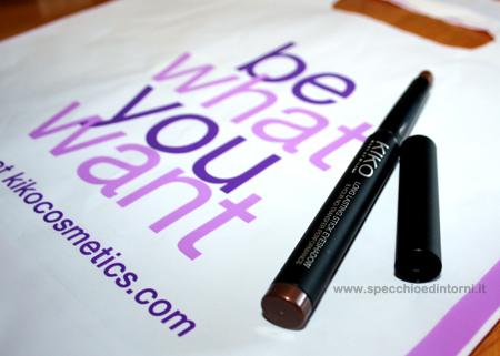 Long Lasting Stick Eyeshadow make up trucco occhi prodotti recensioni commenti opinioni KIKO ombretto lunga durata beauty blog blogger