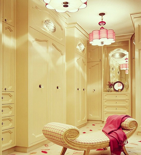dressing room idee arredare stanza camera da letto armadio closet cabin