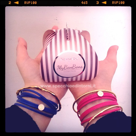 mybonbons nomination braccialetti cupcakes moda fashion accessori must-have blog blogger beauty collaborazioni