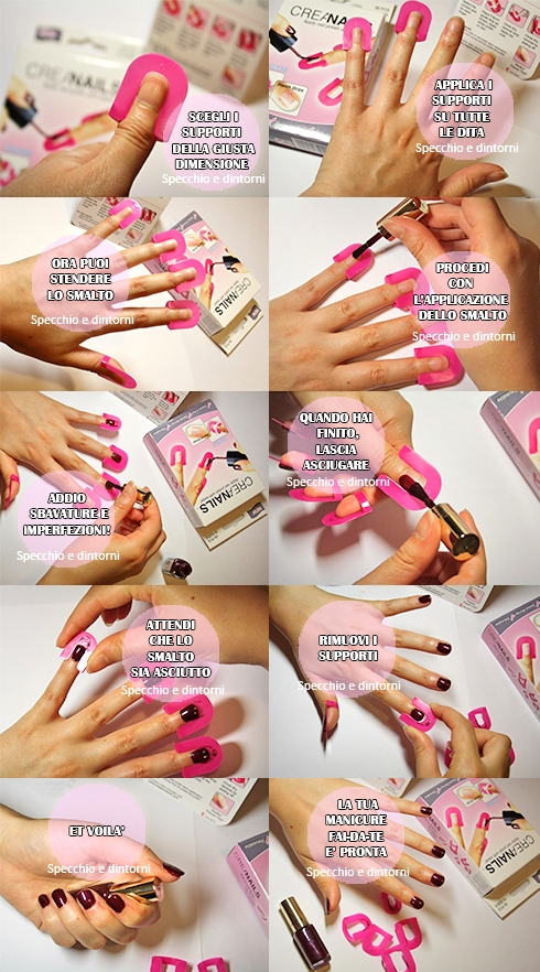 creanails tutorial manicure fai da te beauty blog blogger recensione