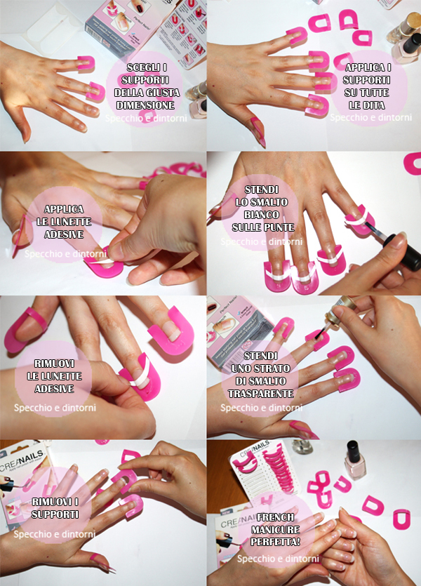 french unghie creanails tutorial manicure fai da te beauty blog blogger recensione collaborazioni