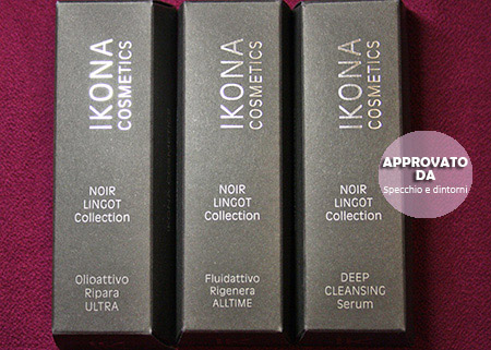 ikona cosmetics pelle cura trattamento bellezza completo total change beauty blog blogger recensione