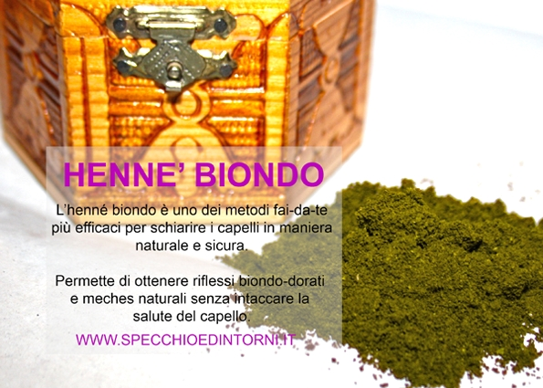 henne colorare sbiondire capelli biondi meches