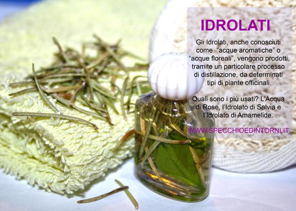 idrolati proprietà piante rimedi naturali