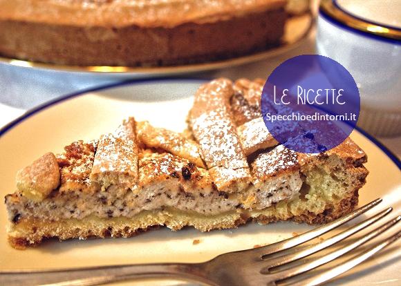 crostata ricotta ricetta facile dolce dessert come preparare cucina