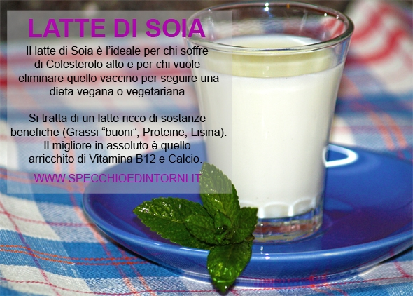 latte di soia proprietà benefici bere salute virtù benefiche