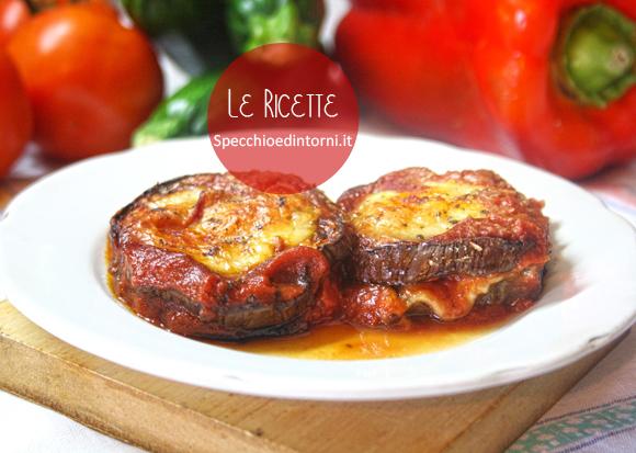 parmigiana melanzane vegana veg vegetariana senza carne mozzarella ricette facili