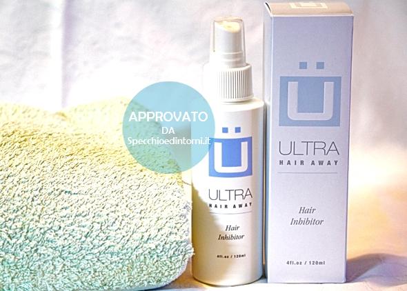 ultra hair ricrescita peli superflui prodotti ridurre rallentare