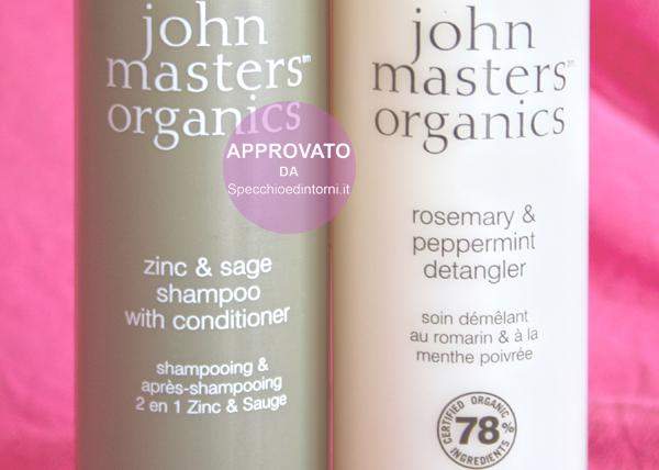 Prodotti di bellezza organici John Masters Organics