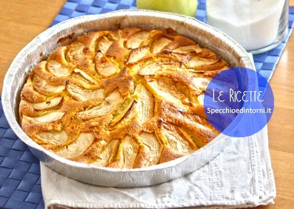Ricetta facile: torta di mele soffice