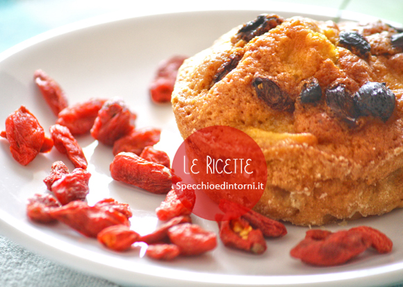 Muffin vegani con bacche di Goji: ricetta facile