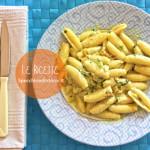 Pasta con crema ai fiori di zucca (ricetta vegana o vegetariana)