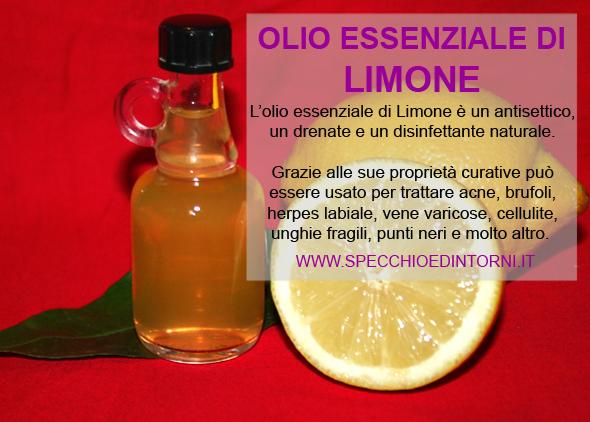Rimedi naturali e cure fai-da-te con l'olio essenziale di Limone