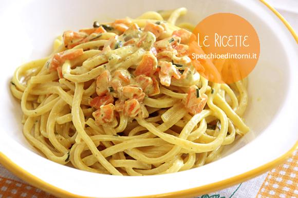 """Ciriole """"cremose"""" con carote e curry (ricetta vegana o vegetariana)"""